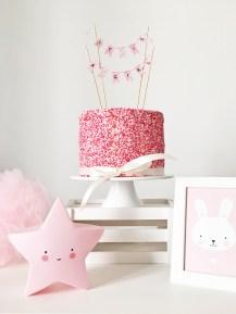 Babshower Sprinkle Cake 05