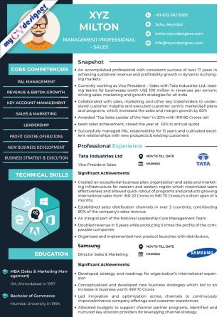 Visual CV (MCDV0013)