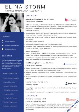 Visual CV (MCDV0041)