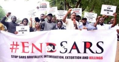 EndSARS protestersCKNNews
