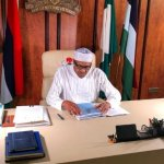 Buhari working from home1 653x365 1