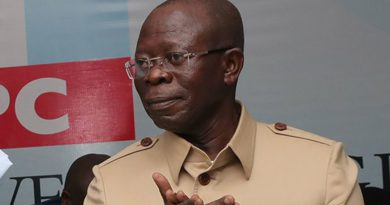 Oshiomhole Begs For Out-of-Out-of-Court Settlement in Ortom's N10bn Suit