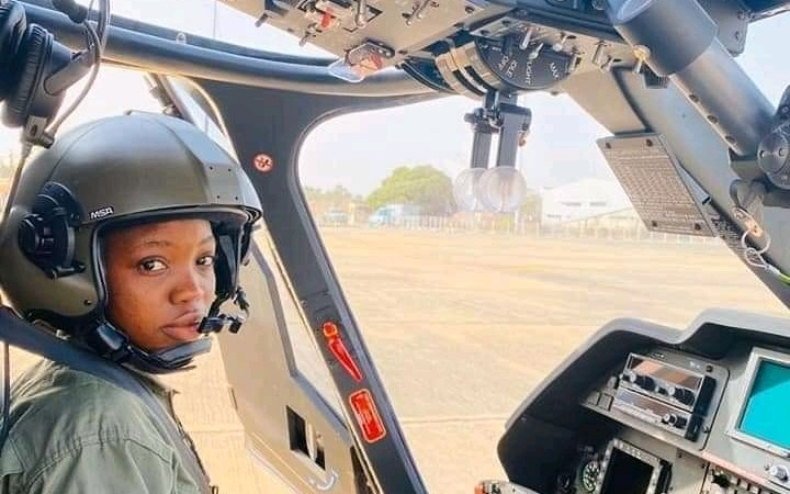Buhari Mourns Nigeria's First Female Combat Helicopter Pilot, Tolulope Arotile