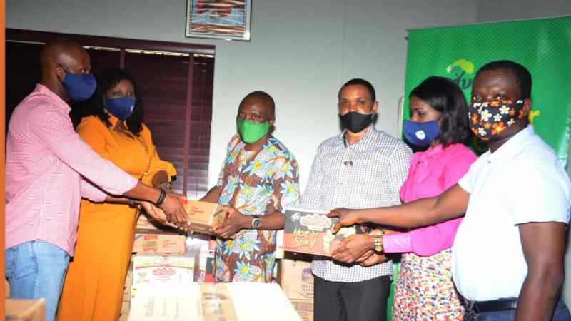 COVID-19: ADVAN Donates Relief Materials to Journalists, Students, Traders