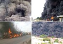 Just In: School Children, Traders, Over 20 Others Burnt To Death As Tanker Explodes In Kogi