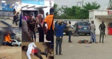 Armed Robbers Raid Bank In Ekiti