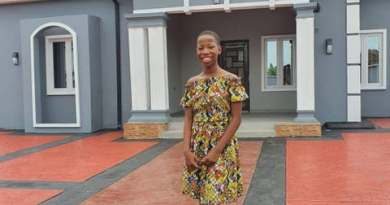 [PHOTOS] 10-Year Old Comedienne, Emanuella Builds House for Mum