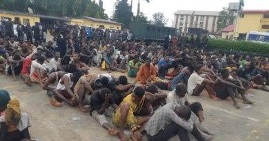 Police parade EndSARS hoodlums in Lagos