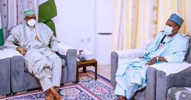 GOV MASARI BRIEFS PRESIDENT BUHARI