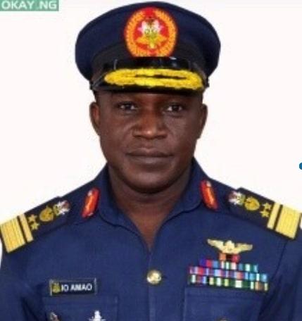 Chief of Air Staff Air Vice Marshal I.O Amao