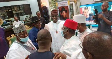 APC governors during a visit to Goodluck Jonathan
