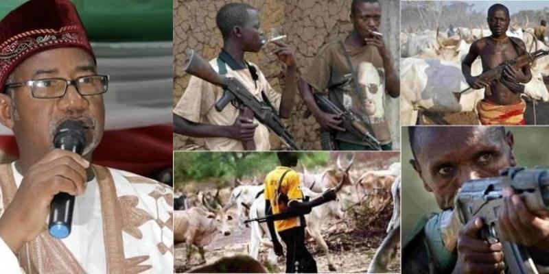Bala Mohammed with Fulani Herdsmen carry AK47
