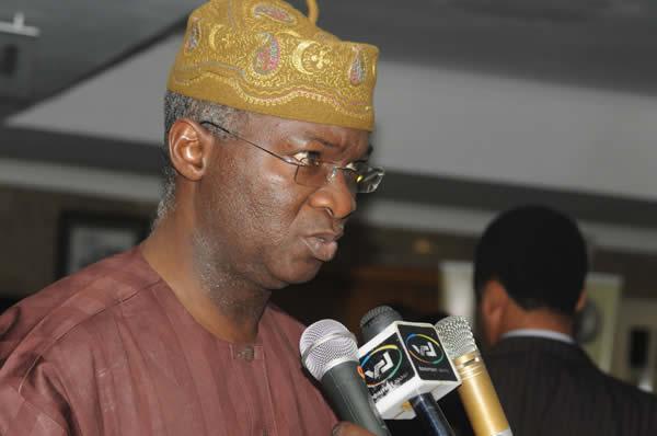 Minister of Power Works and Housing Babatunde Fashola