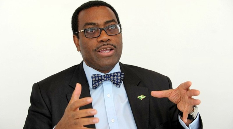 President of African Development Bank AfDB Dr. Akinwunmi Adesina