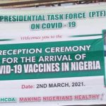 FG Holds Reception Ceremony For COVID 19 Vaccine in Abuja