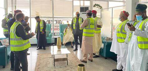 FG Holds Reception Ceremony For COVID 19
