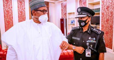 PHOTOS: Buhari Meets Acting IGP Baba