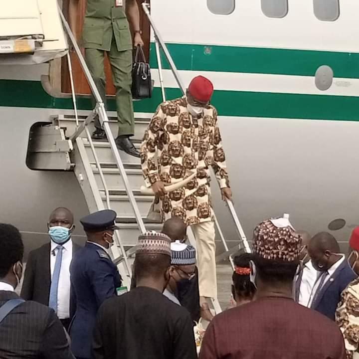 Buhari visits Imo 1