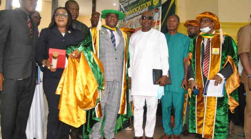 Philanthropists Donate Academic Building, Ambulance To Crescent Varsity At 13th Convocation