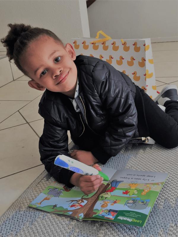 LeapReader Review preschooler 2