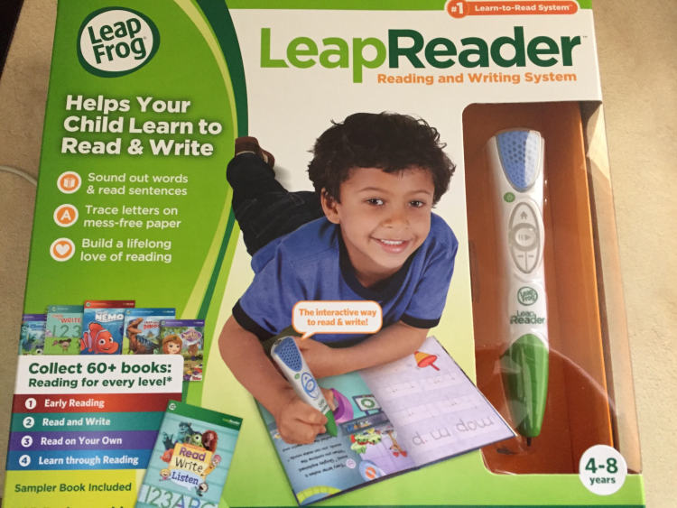 LeapReader review box
