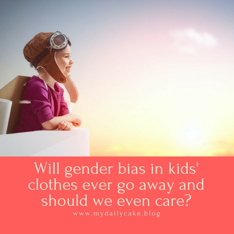 Will gender bias in kids' clothes ever go away and should we even care?