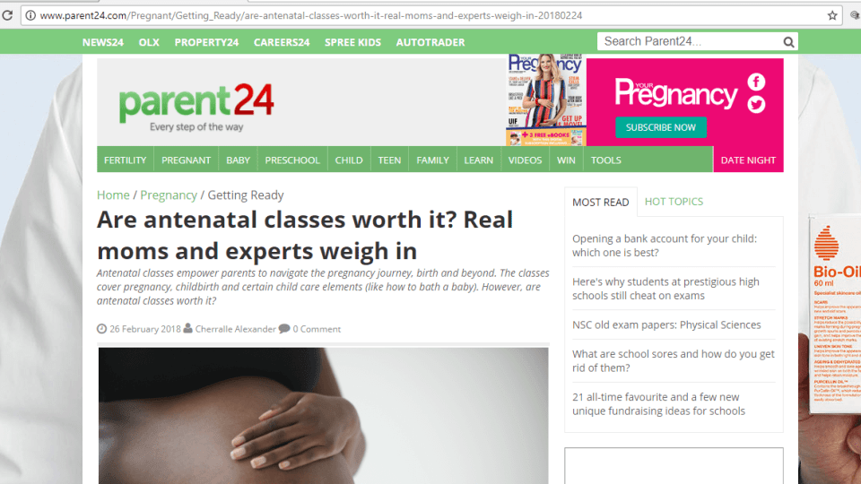 my daily cake mommy blogger featured parent 24 with DRUM antenatal