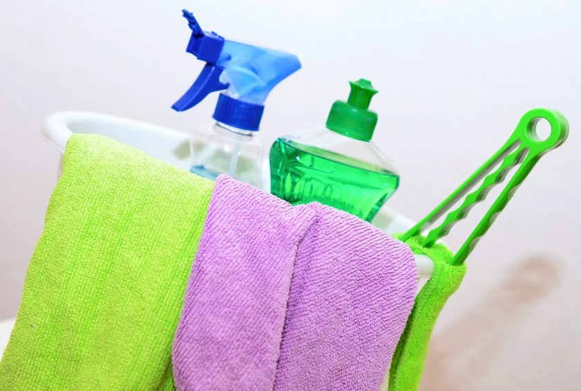 cleaning tips for working moms_house