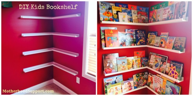 DIY Storage Ideas To Organize Kids' Rooms