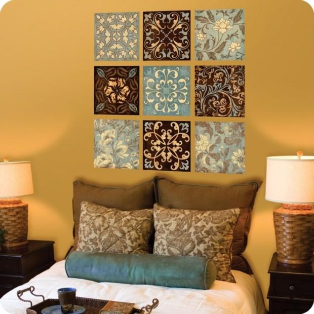 Insanely DIY Ideas For Bedroom - My Daily Magazine - Art ... on Bedroom Wall Decor  id=15462