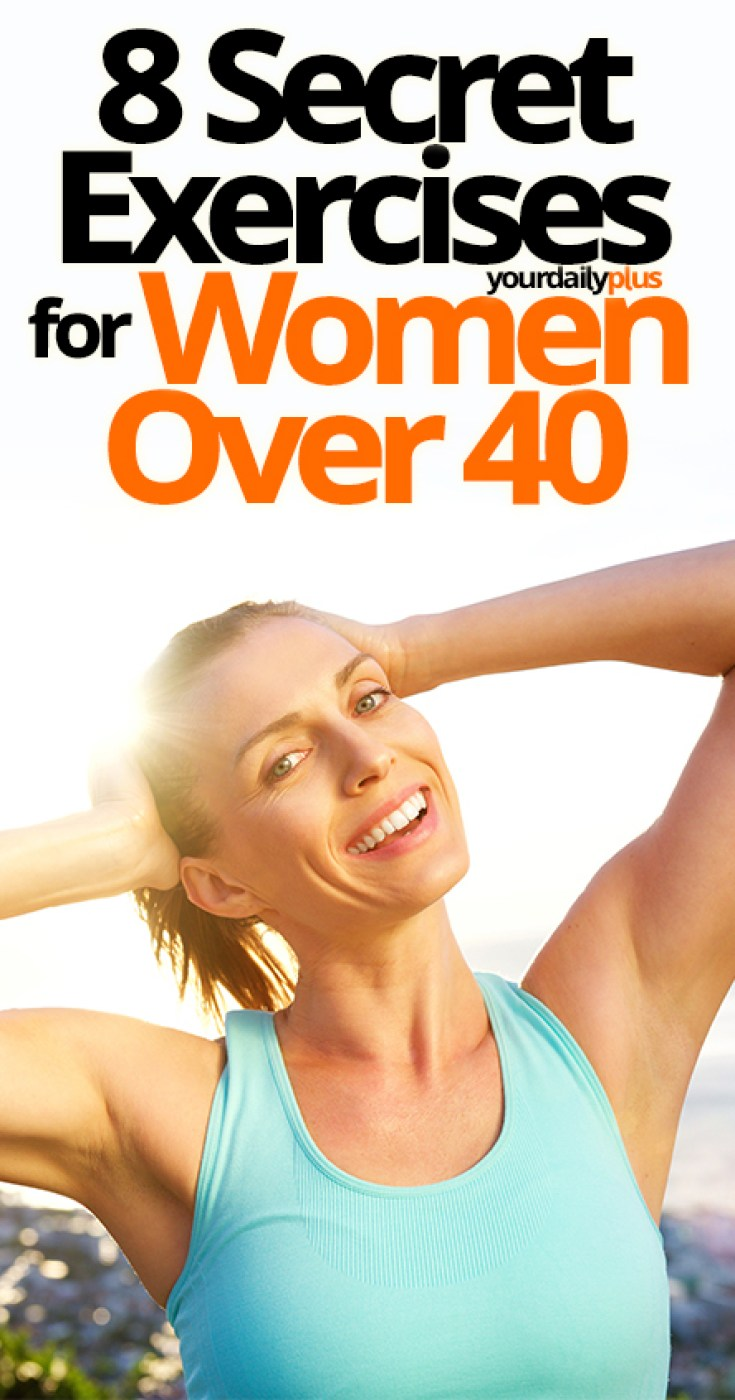 Are you finding yourself becoming less active as you move into your 40's? Don't worry - we've put together the best exercises for women's health after 40to help you lose weight and regain your youthful body!