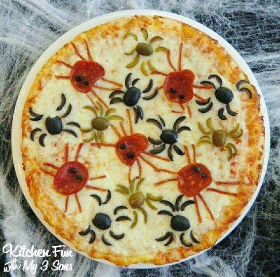 halloweenspiderpizza