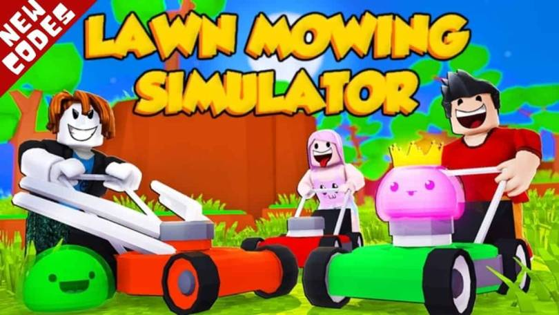 Roblox Lawn Mowing Simulator codes