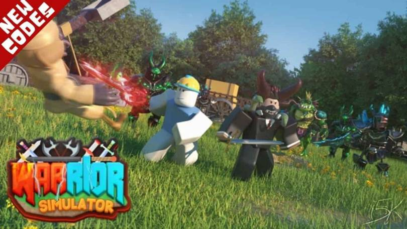 Roblox Warrior simulator codes list