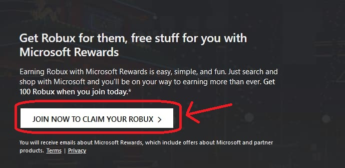 roblox microsoft rewards