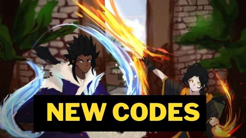 Roblox A Benders Will 2 codes