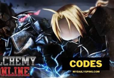 Alchemy Online codes Roblox