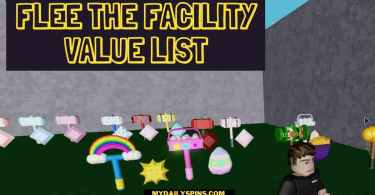 Flee The Facility value list