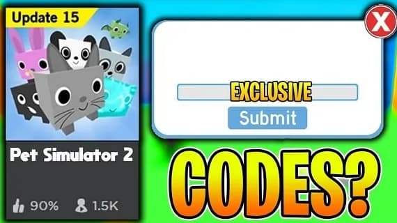 Pet simulator 2 codes