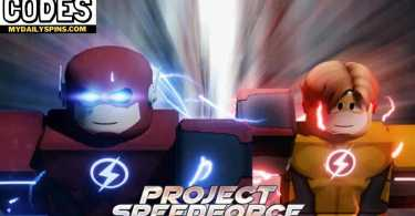 Roblox The Flash Project Speedforce Codes list