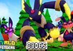Roblox WORLD DEFENDERS Codes list