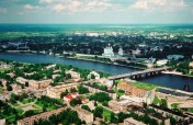 Downtown Pskov