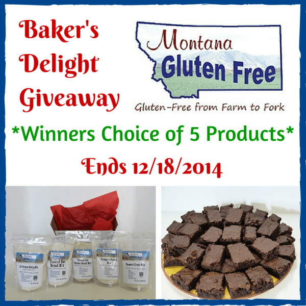 Baker's Delight Giveaway from Montana Gluten Free