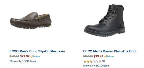 156fd88e4ce9e Amazon ~ 50% Off ECCO Men's Shoes ~ Today Only! - My DFW Mommy