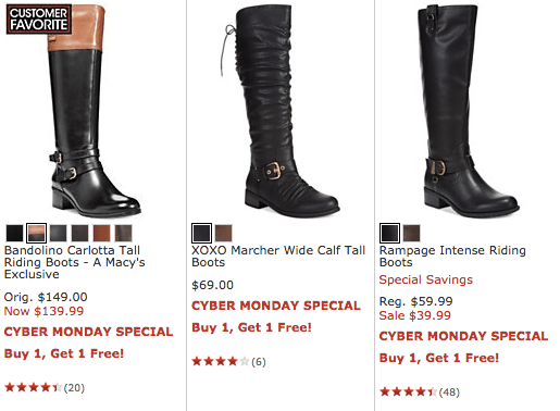 Macy's Online Cyber Monday Sale ~ Buy 1