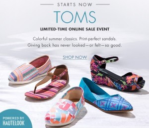 a55b3db2e Nordstrom Rack~ Up to 50% Off TOMS Shoes for the Family. Posted by My  Dallas Mommy on ...