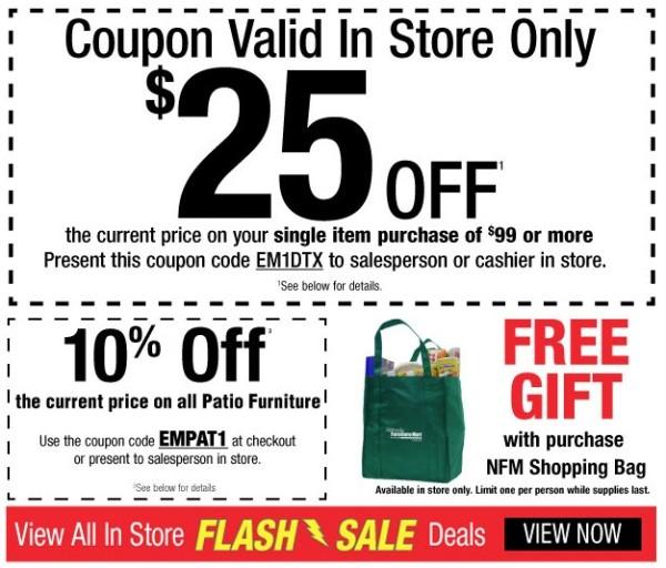 Nebraska Furniture Mart One Day Only In Store Flash Deals