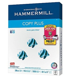 Staples Hammermill Copy Plus Copy Paper For 1 This Week My