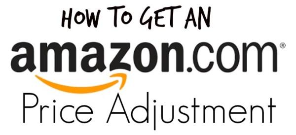 Amazon Price Adjustment