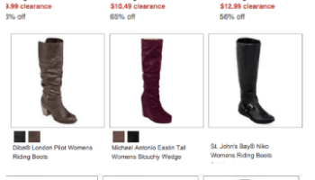 dfa681e9f JCPenney ~ Huge Shoe Clearance Sale + Extra 20%, Super Cheap Shoes!